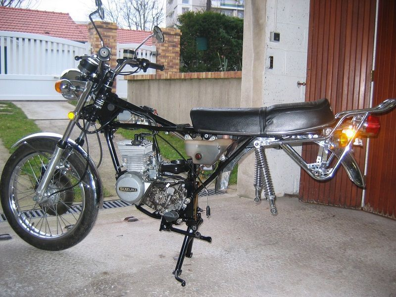 Restauration de 4 motos Suzuki GT #5