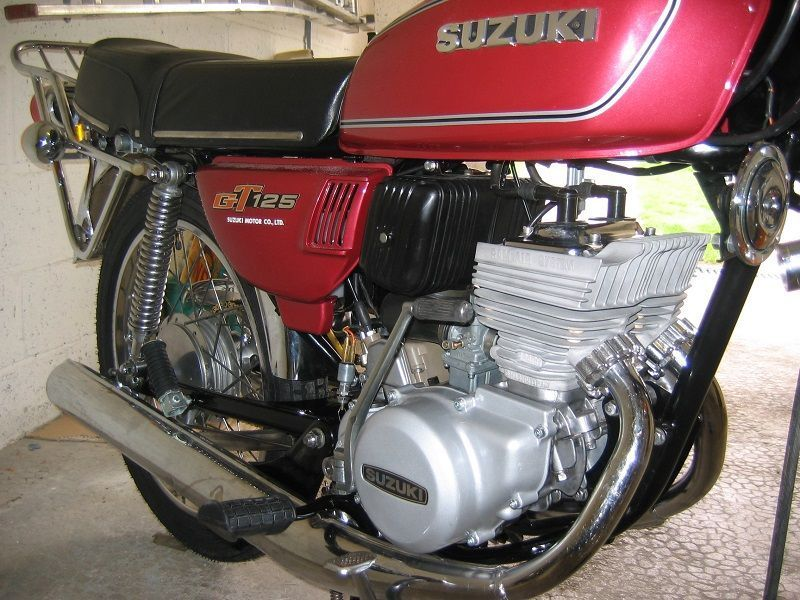 Restauration de 4 motos Suzuki GT #6