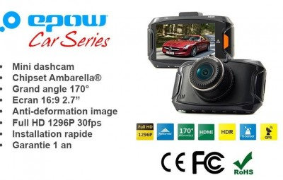 Une dashcam simple et efficace, la Dashcam EPOW® G90